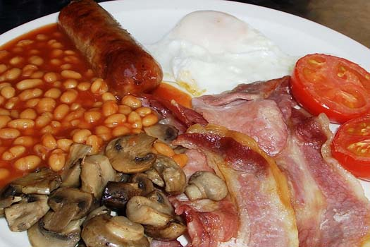 Not for everyone... a full English