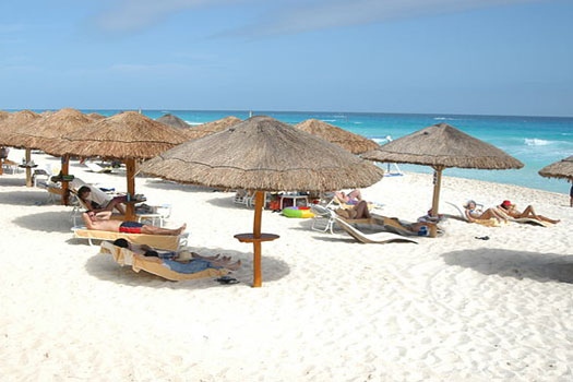 Cancun is a popular holiday spot