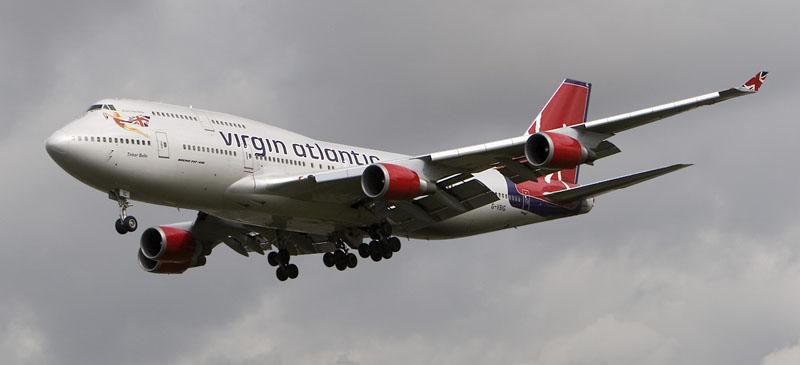 Scottish flights planned... Virgin Atlantic