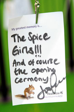 The Spice Girls were a closing ceremony highlight