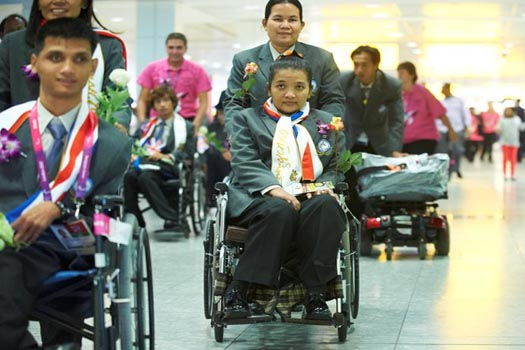 Paralympians are heading home after the Games