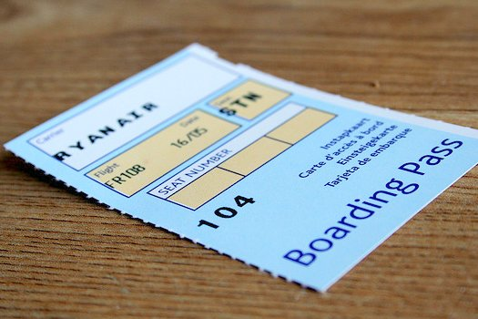Passengers must now print their boarding pass themselves
