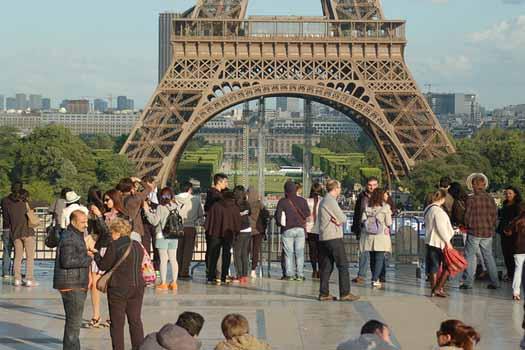 Popular destination... France