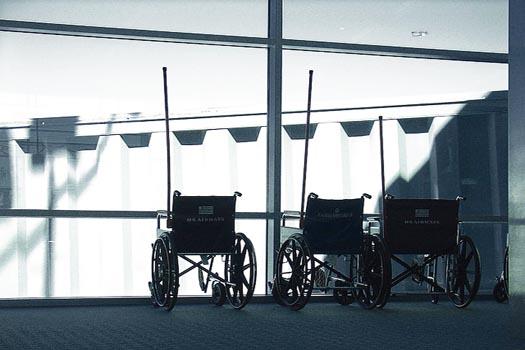 Airports should do more for disabled passengers