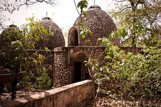 Abandoned Beatles Ashram, Rishikesh, India
