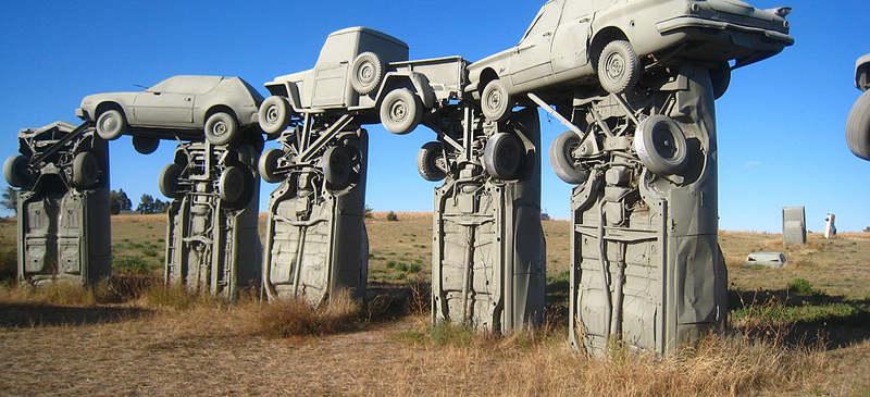 Carhenge - America roadside curiosities