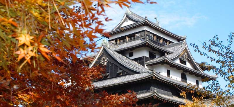 Matsue castle in autumn - Shimane prefecture