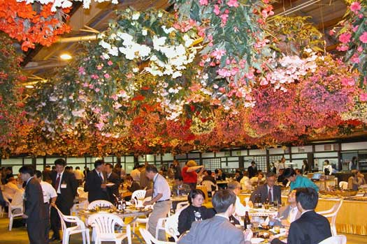 An Autumn banquet at Matsue Vogel Park in Matsue City, Shimane