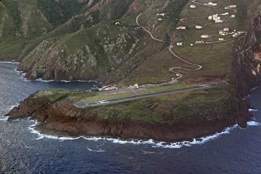 Juancho E. Yrausquin Airport – Saba, Netherlands Antilles (Scariest airport runways)