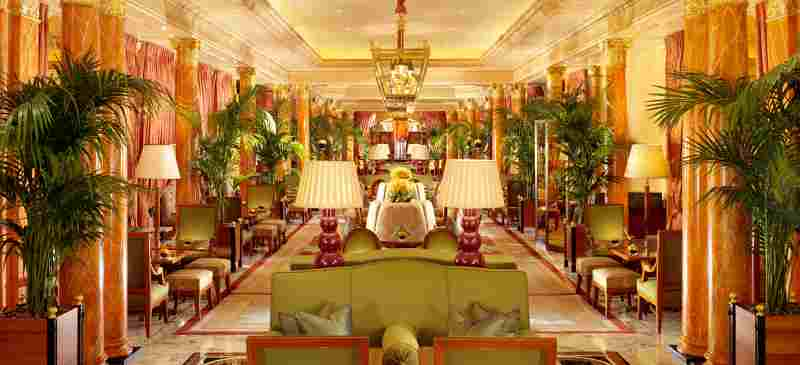 Promenade - The Dorchester Afternoon Tea, London, England