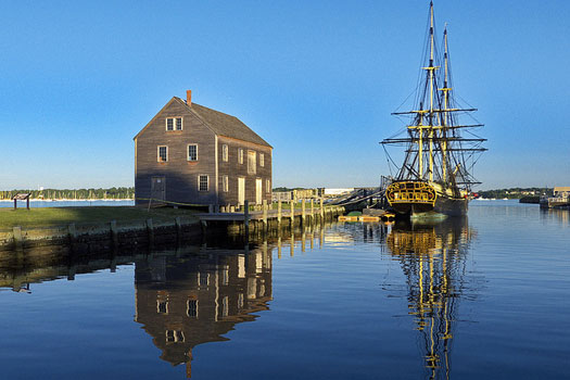 The Friendship at Derby Wharf, Salem, Massachusetts, USA