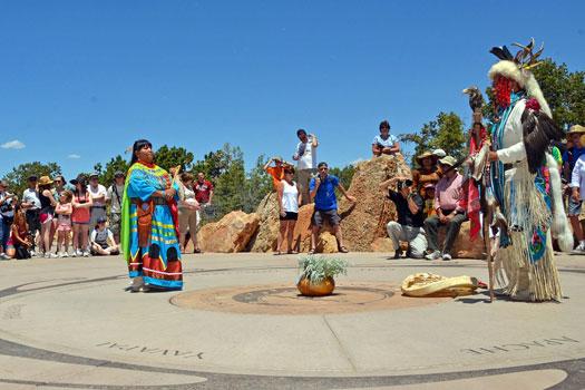Members of the Havasupai Tribe