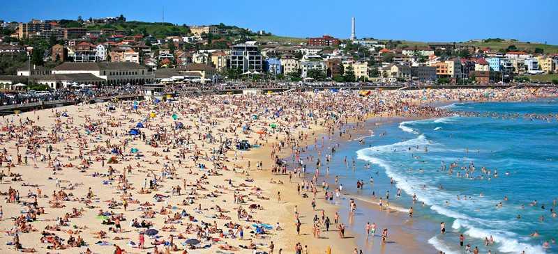 Sydney Itinerary Bondi Beach
