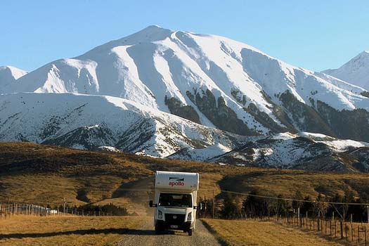 Rent a caravan in New Zealand
