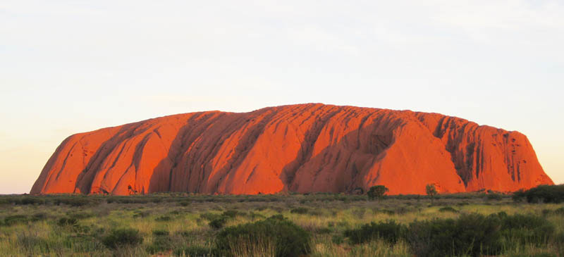 Your running out of time to climb Ayers Rock