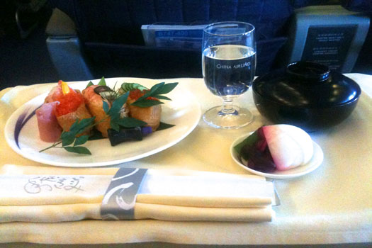 Better in-flight meals