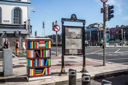 "Ormond Quay, Dublin - ""Bookcase"" by Holly & Cathal"