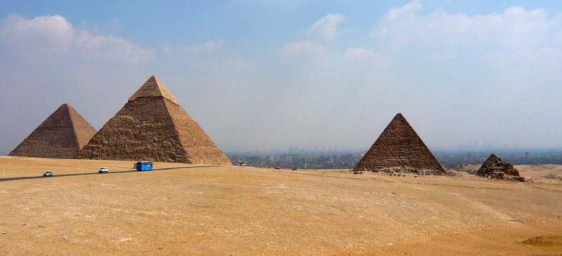 Reopening... Egyptian pyramids