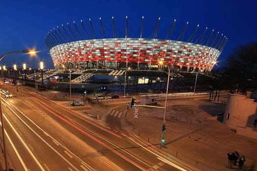 Poland's National Stadium in Warsaw