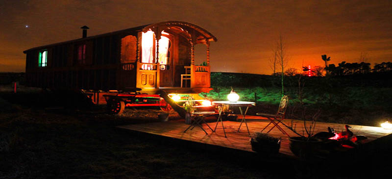 Try some caravan 'glamping' in Scotland