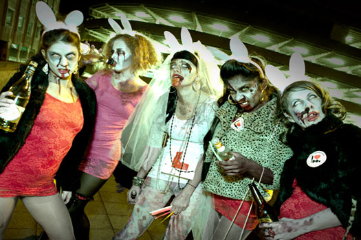 Zombie Nation hen party