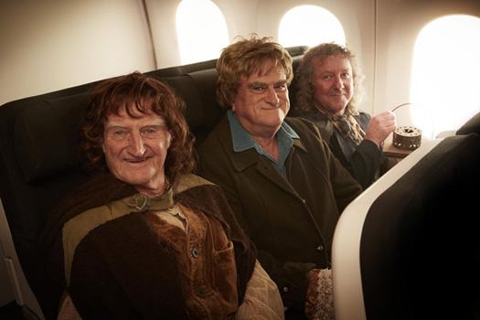 Air New Zealand Hobbits