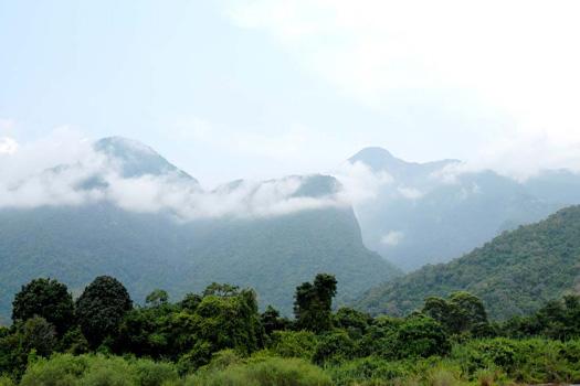 Mahale Mountains National Park from Lake Tanganika
