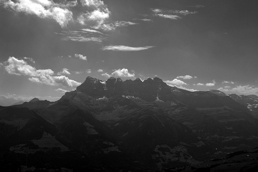 Dents du Midi in the Chablais Alps, Valais
