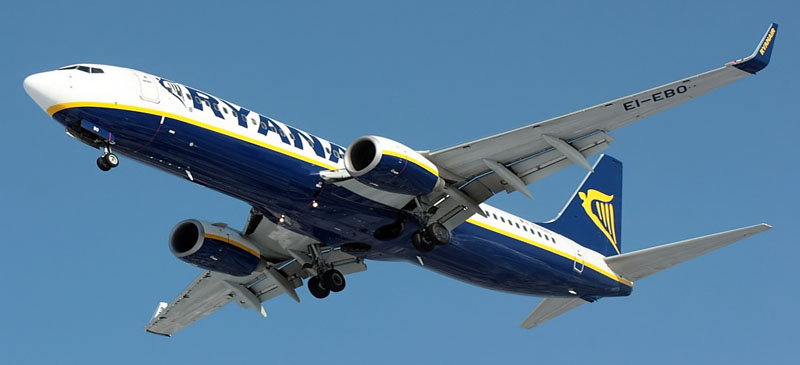 New routes for 2013... Ryanair