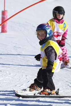 Ski activities for kids
