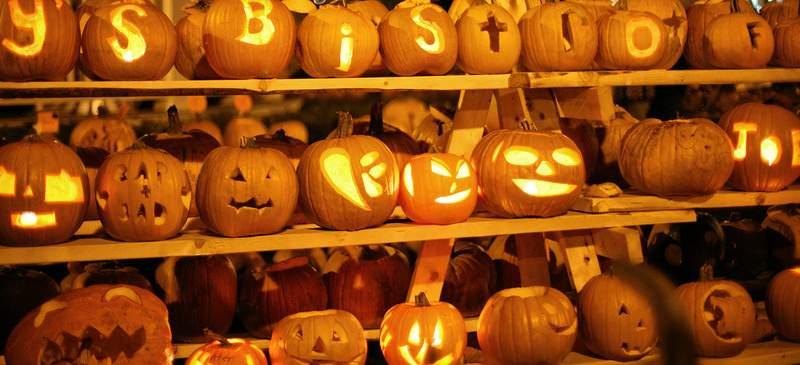 Visit a pumpkin festival this Hallowe'en