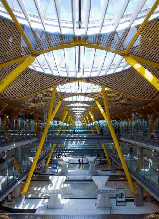 Barajas Airport, Madrid (Spain) – Terminal 4
