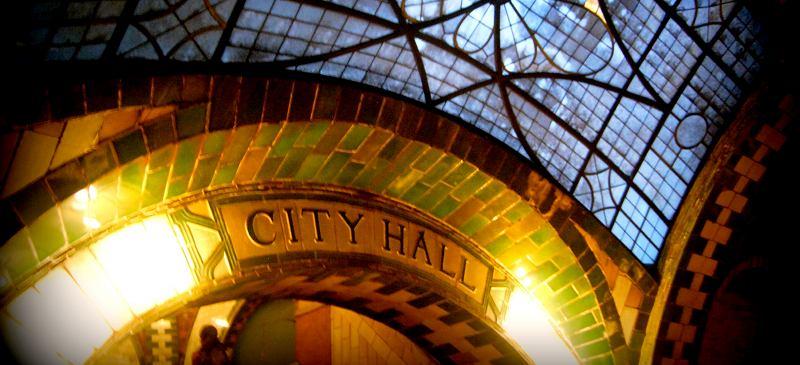 New York City Hall subway station - Hidden cities