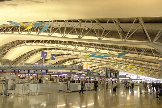 Kansai International Airport, Osaka (Japan)