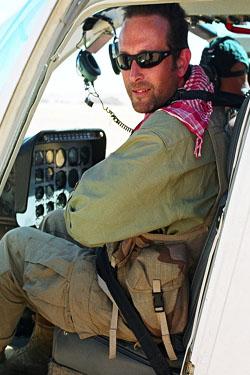 Sam in the Namib Desert