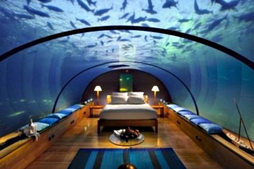 Underwater wedding in Maldives