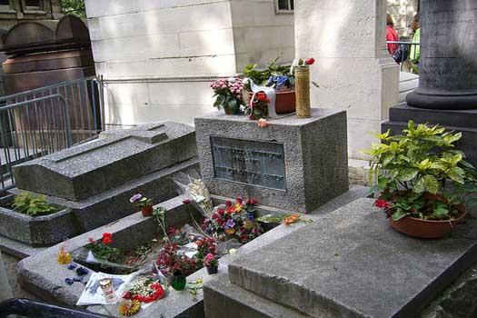 Jim Morrison's resting place