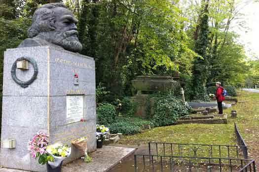 Karl Marx's resting place