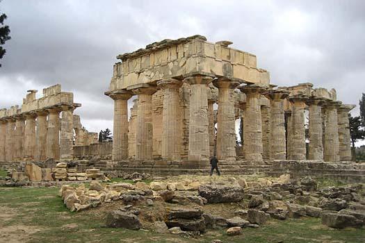 Temple of Zeus, Libya