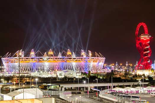 Post-Olympics holiday rush