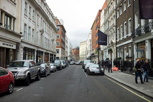 Savile Row, London, England