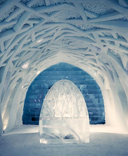 Ice Hotel - Jukkasjarvi Swed