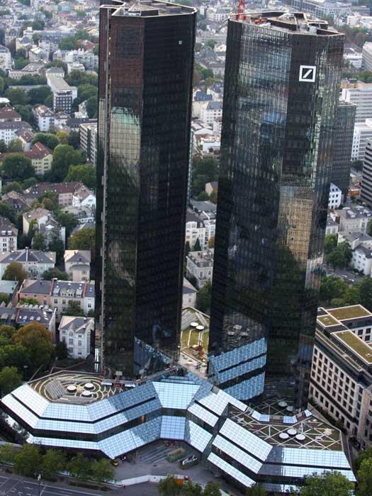 Deutsche Bank Towers, Frankfurt, Germany
