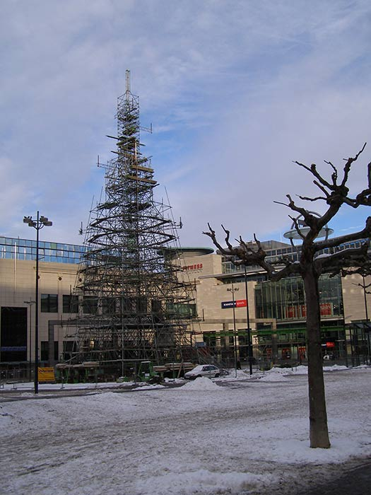 Dortmund - Christmas trees with real bling
