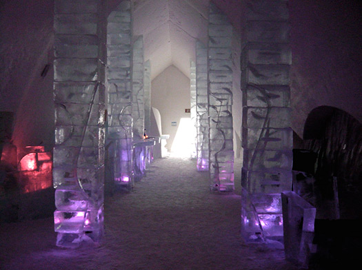 Hotel de Glace - 5 seriously cool winter wonderlands