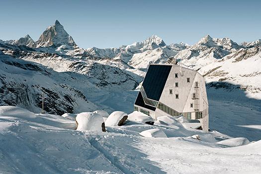 Monte Rosa Hut - 5 seriously cool winter wonderlands