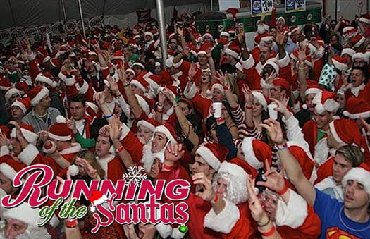 Running of the Santas - Philadelphia