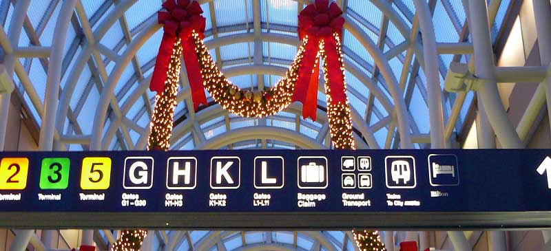 Top 10 mistakes that Festive Travellers make