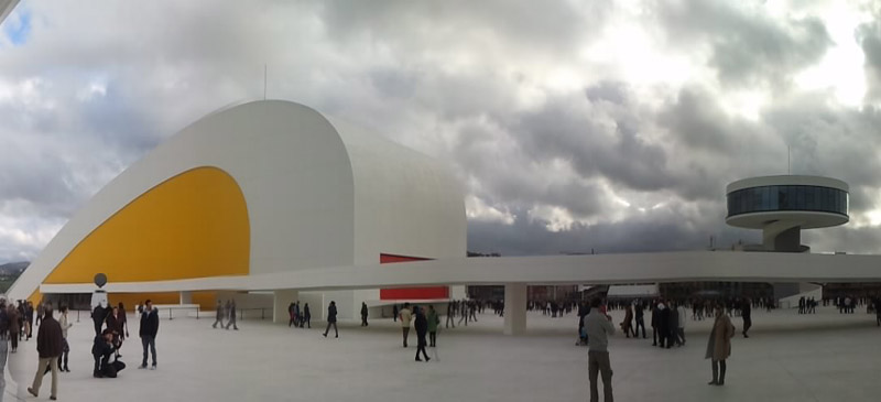 Oscar Niemeyer's influence can be seen around the world