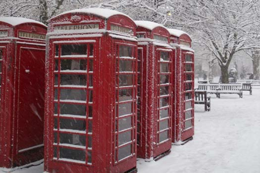 Typical British winter